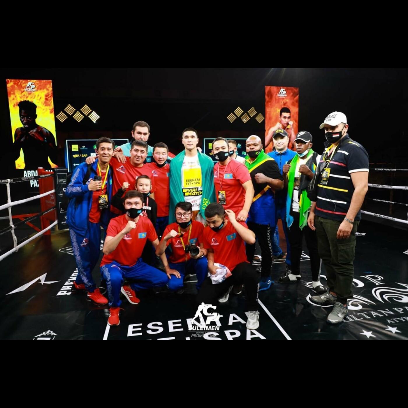Вечер профессионального бокса провели в Атырау, фото-2