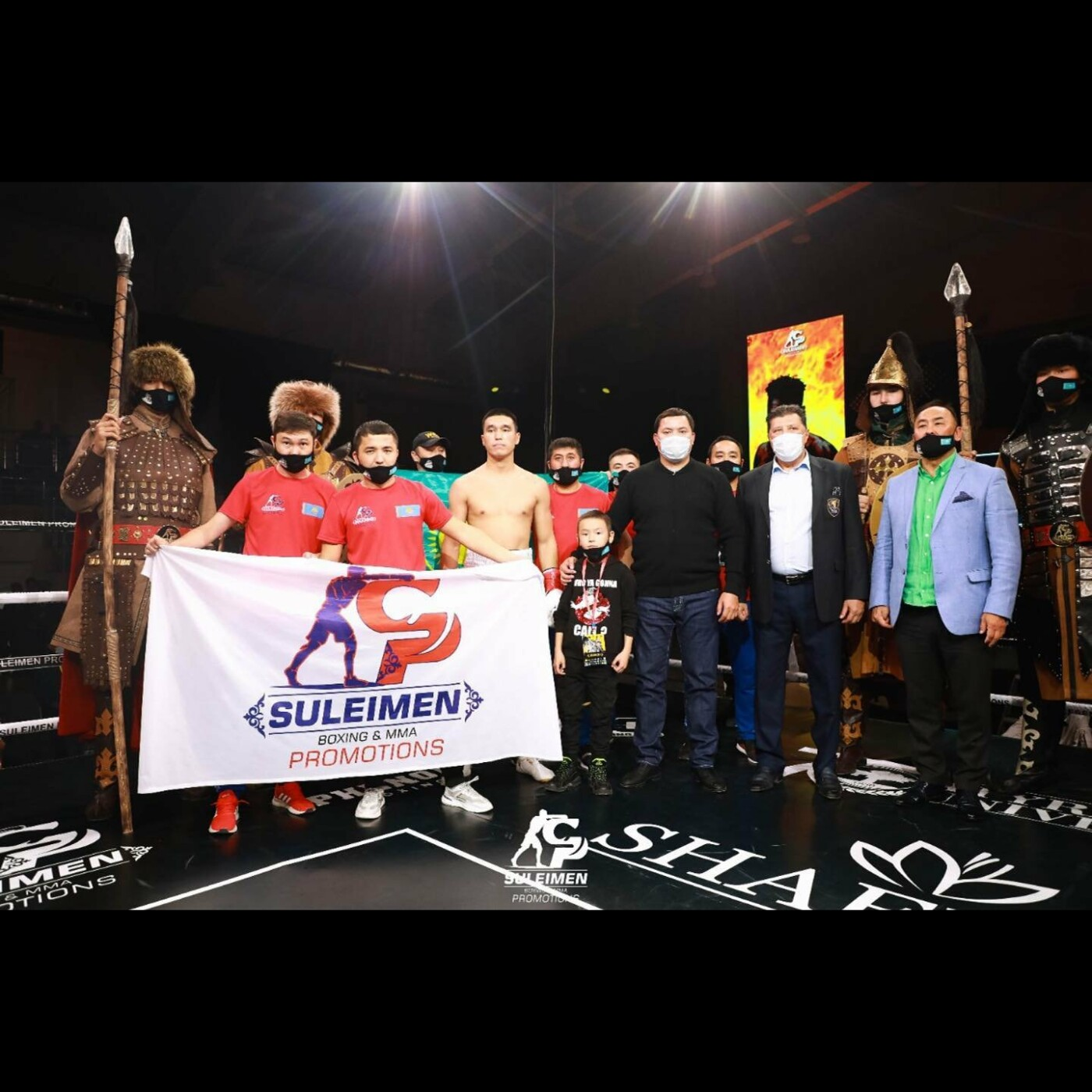 Вечер профессионального бокса провели в Атырау, фото-3
